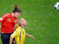 Сборная Испании обыграла шведов