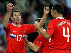 Сборная России победила Грецию в матче Евро-2008