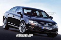Новый Volkswagen Passat появится в 2012 году