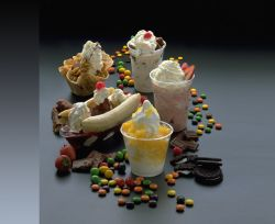 Мороженое для ленивых вертится само