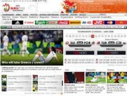 Британцы стали самыми активными посетителями сайта Евро-2008