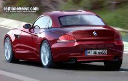 Новый BMW Z4 попал в кадр