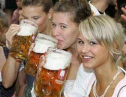 В Германии запрет на курение снизил потребление пива