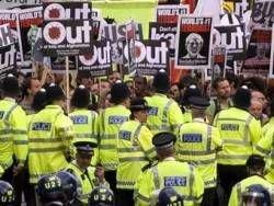 Лондон встретил Джорджа Буша демонстрацией против войны в Ираке