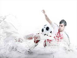 Буйство красок и футболисты немецкой Бундеслиги