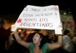 Аргентинские фермеры снова бастуют