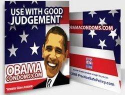 """В Америке появились презервативы \""""Обама\"""" и \""""Маккейн\"""""""