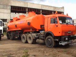В Саратове произошло крупное ДТП с участием бензовоза