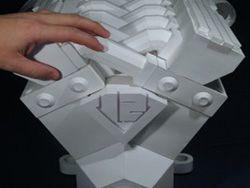Бумажный двигатель V12