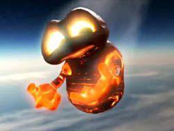 Падающий метеорит стал героем мультфильма