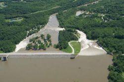 Фотообзор: Река Миссисипи затопила новые города в штате Айова
