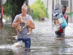 Фотохроника наводнения в Америке