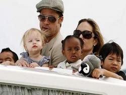Брэд Питт признан лучшим отцом Голливуда