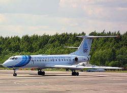 В Калининграде аварийно сел Ту-134