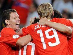 Сборная России выиграла у шведов и вышла в плей-офф на Евро-2008!