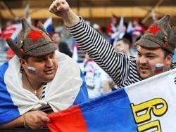 Болельщики российской сборной перегородили Тверскую улицу