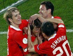 Россия в четвертьфинале Евро-2008