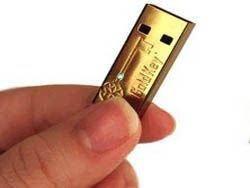GoldKey USB: самая безопасная USB-флэшка в действии