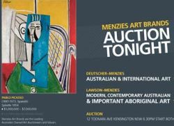 Картина Пикассо продана на аукционе в Австралии за рекордные $6,5 млн