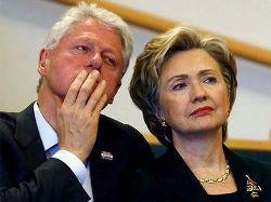 Клинтоны: Хиллари в депрессии на пляже, Билл вернулся к лекциям