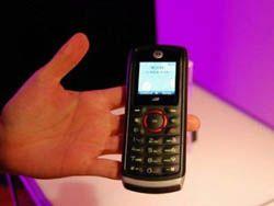Краш-тест Motorola i335