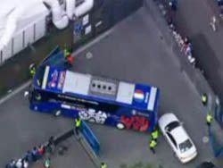 Автобус сборной Франции попал в аварию перед игрой с итальянцами