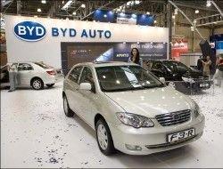 На российском рынке появился китайский хэтчбек BYD F3-R