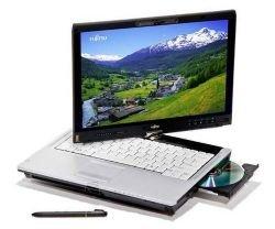 Первый планшетный ноутбук на базе платформы Intel Montevina от Fujitsu