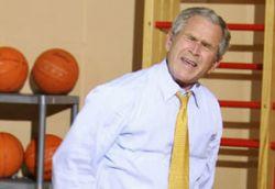 Джордж Буш уйдет из президентов и станет писателем