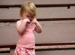 Дети реагируют на развод аллергией