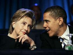 В президентской кампании Барака Обамы примет участие Хиллари Клинтон