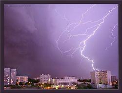 В Крыму молния поразила десять человек