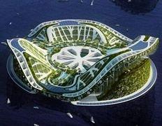 Города-лилии спасут человечество от Всемирного потопа