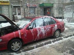 Украинские машины губит кислота