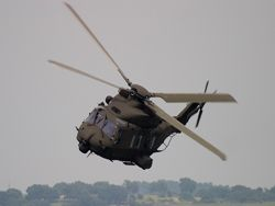 Катастрофа вертолета NH90 в Италии