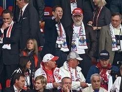 Российские чиновники отметились на Евро-2008