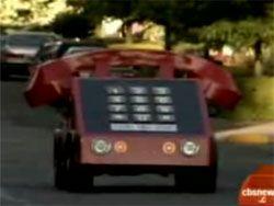 Автомобиль в виде телефона