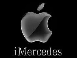 Mercedes интегрирует iPhone во все свои автомобили