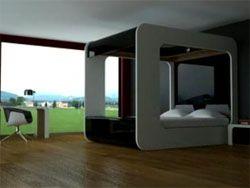 Кровать в стиле Apple