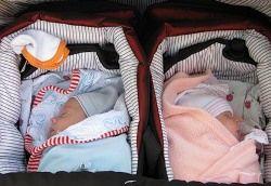 Американка стала суррогатной матерью близнецов в 52 года
