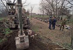 Следствие проверит братскую могилу в Грозном