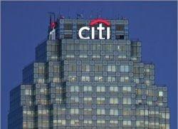 Citigroup подешевела до 100 миллиардов долларов