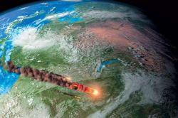Ученые смоделировали падение Тунгусского метеорита