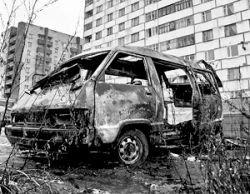 В Киеве завелся свой автоманьяк