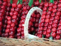 Черешня - первая полезная ягода лета
