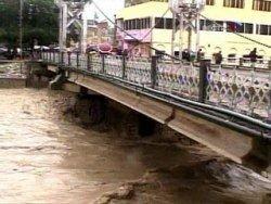 Наводнение изолировало шесть грузинских сел