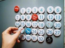Подборка креативных календарей