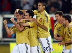Испанцам досталась несчастливая форма на матч с Россией