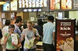 """Экономический кризис на руку \""""Макдоналдс\"""""""