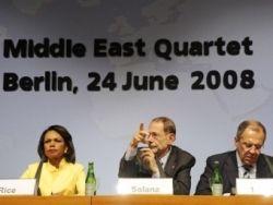 """Ближневосточный \""""квартет\"""" намерен помирить Палестину и Израиль"""